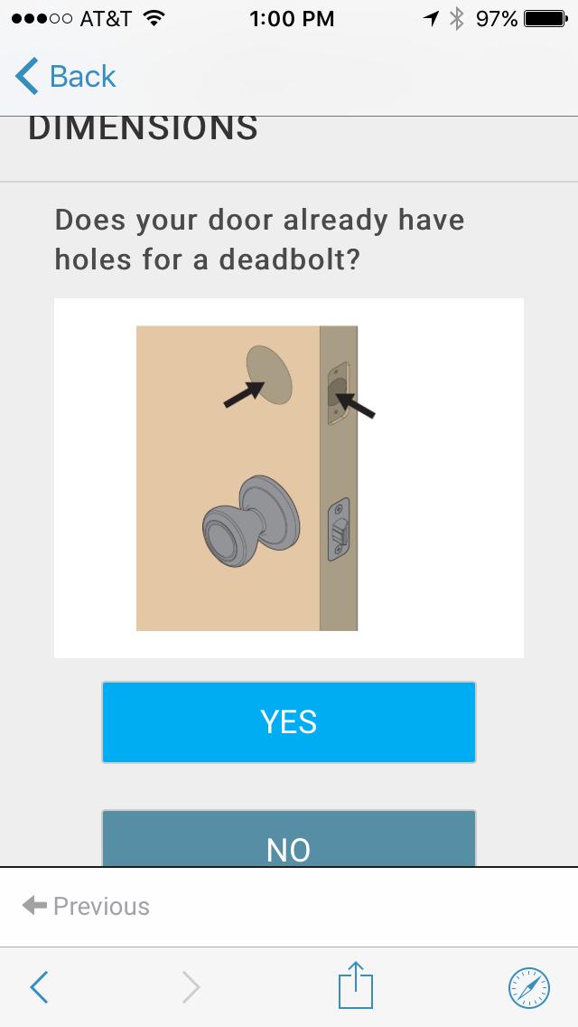 Deadbolt or Not?