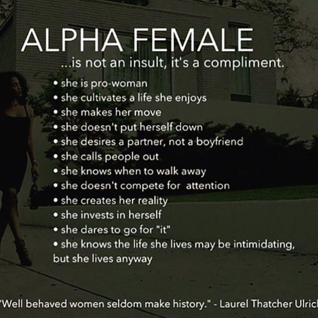 Alpha Female Problems
