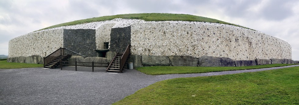 Newgrange Tomb in Ireland
